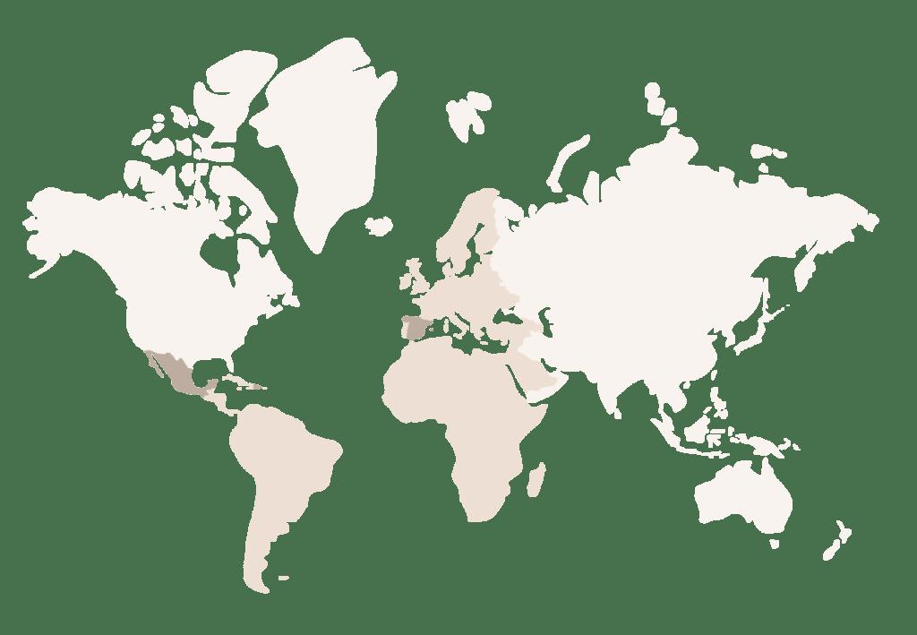 Mapa cobertura servicio